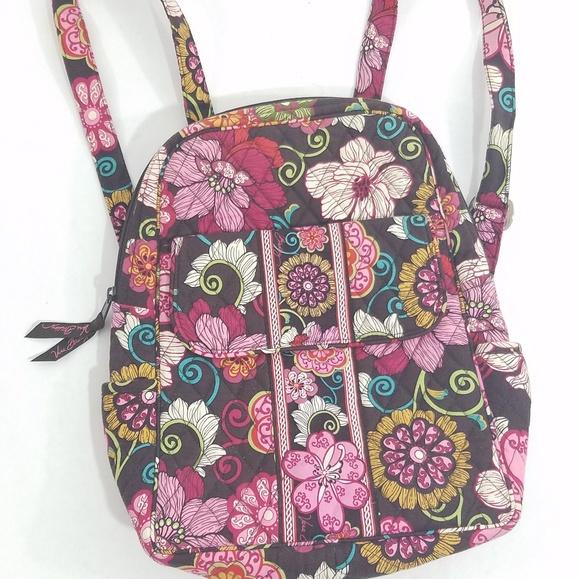 b6c3d33a9a11 Vera Bradley Backpack Floral. M 5b57ecf5df0307a9179ca54b